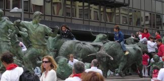 Best Places to Visit in Spain Pamplona Bulls