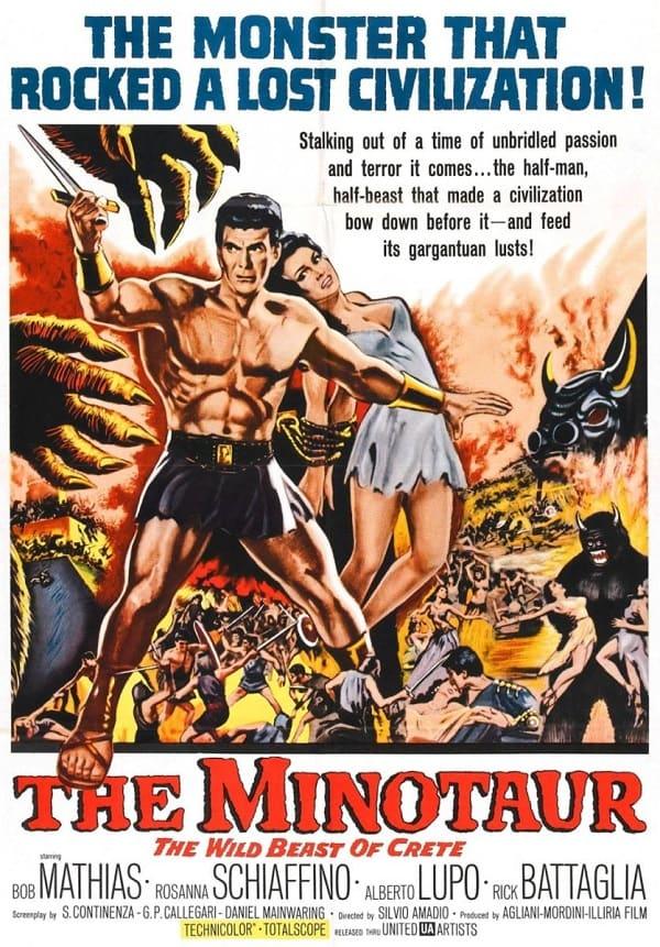 Greek Mythology Movies The Minotaur 1960