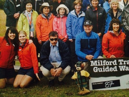 Milford Track Ultimate Hikes Guided Walk with Goddesses