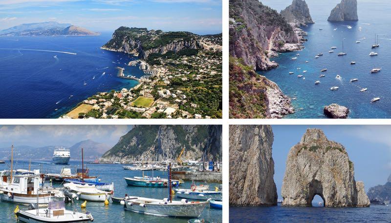 Best of Capri Island Amalfi Coast