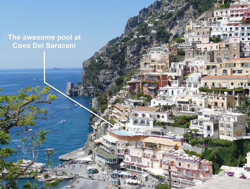 Best pool in Positano Amalfi Coast