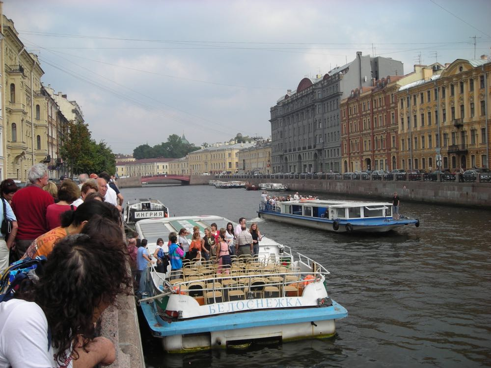 Boat Ride Saint Petersburg