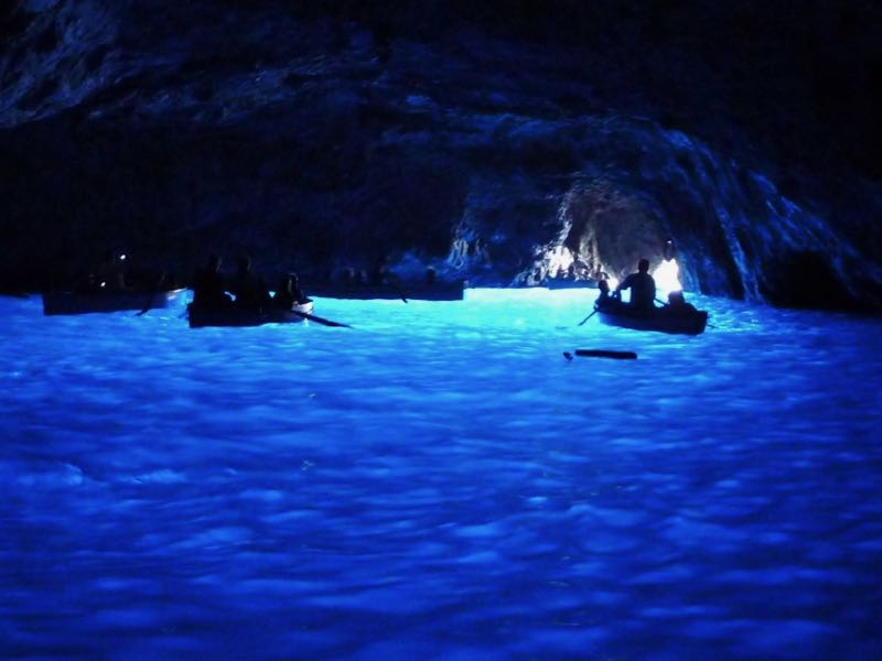 Capri Island Blue Grotto