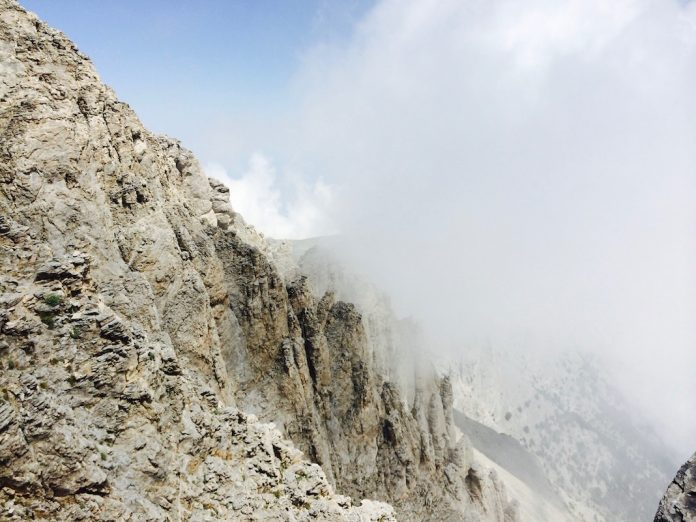 Climbing Mount Olympus for the first time