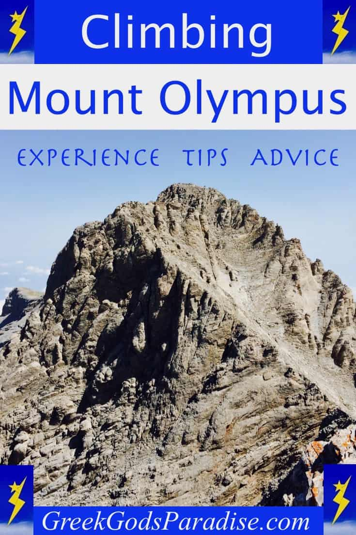Climbing Mount Olympus in Greece