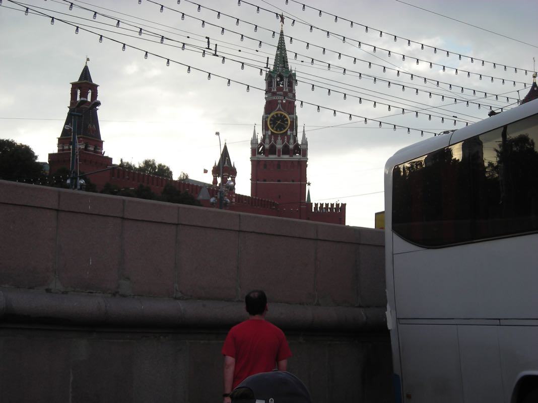 Contiki Bus Trip Russia