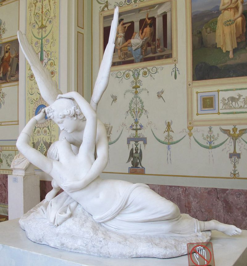 Cupid and Psyche Sculpture Hermitage