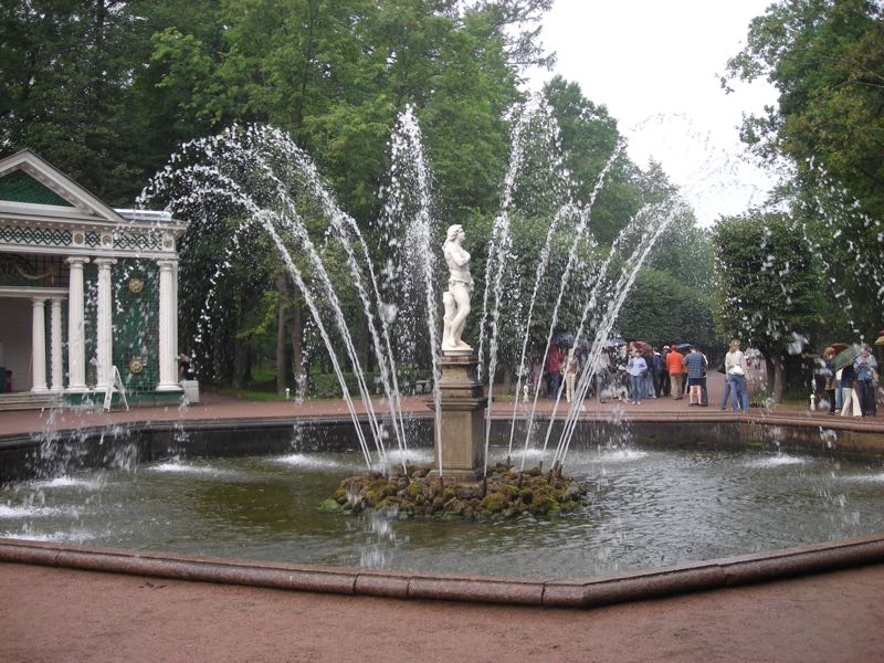 Fountain in Palace St Petersburg