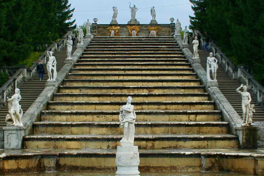 Greek Gods Cascade Peterhof