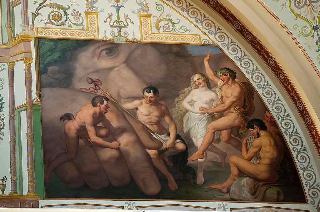 Greek Mythology Hermitage Museum