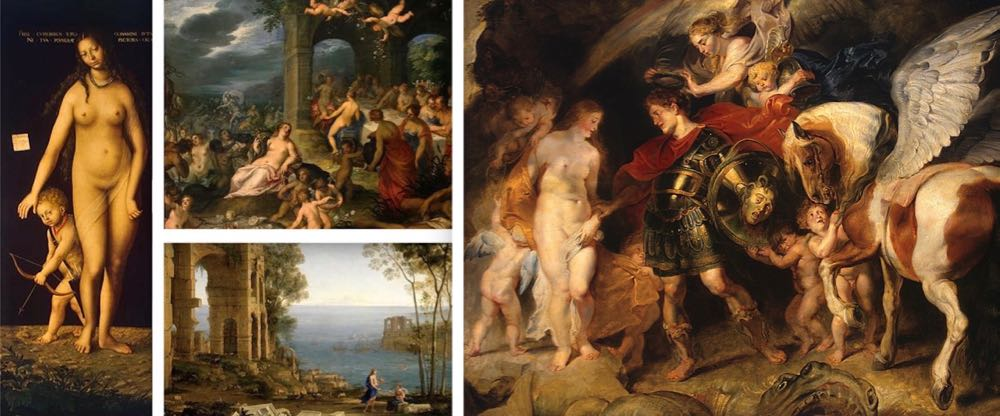 Greek Mythology Paintings in the Hermitage