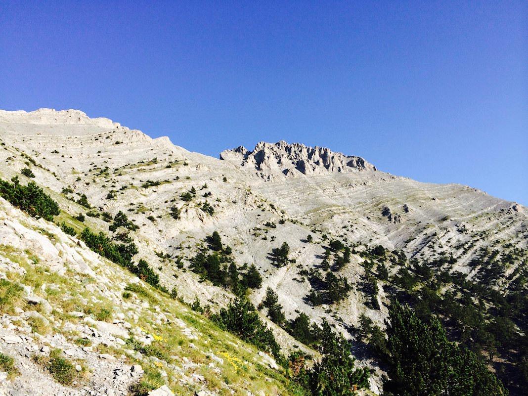 Mount Olympus Peaks
