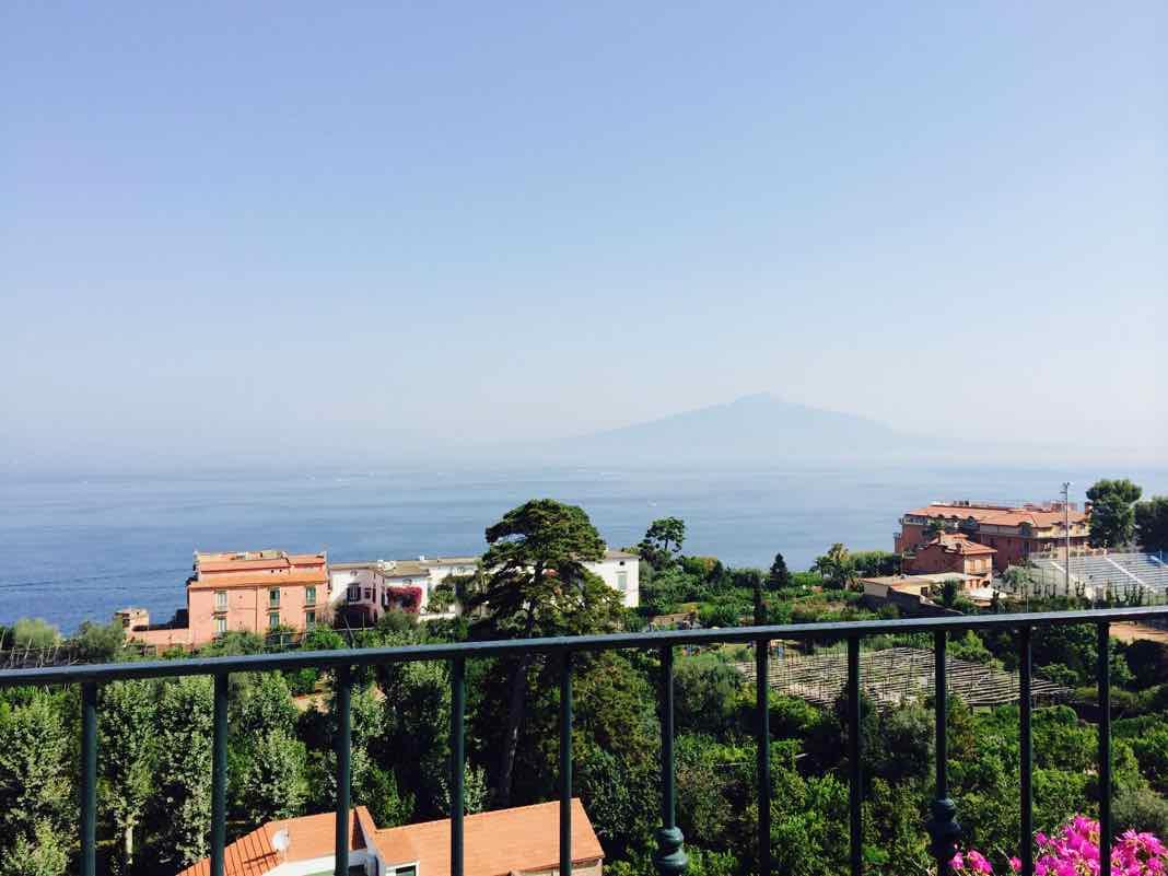 Mount Vesuvius Views from Sorrento