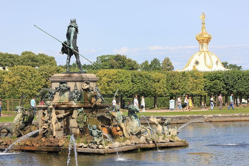 Neptune Fountain Russia