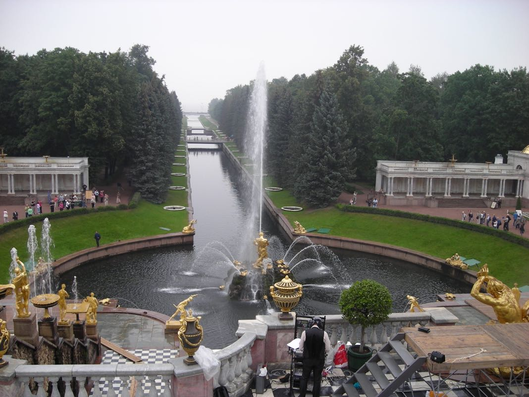 Peterhof Palace Grand Cascade Fountain