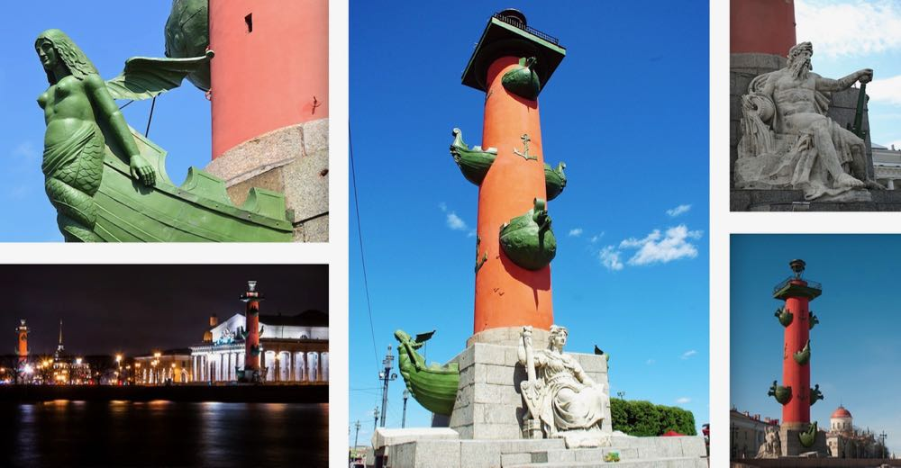 Rostral Columns St Petersburg