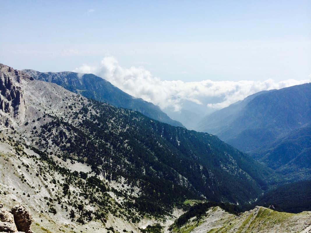 Skala Peak Mount Olympus