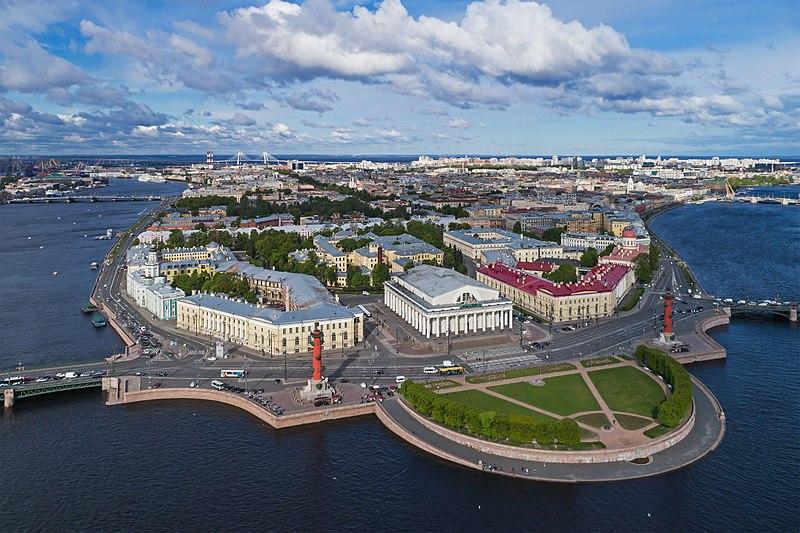 Spit of Vasilievsky Island Rostral Columns