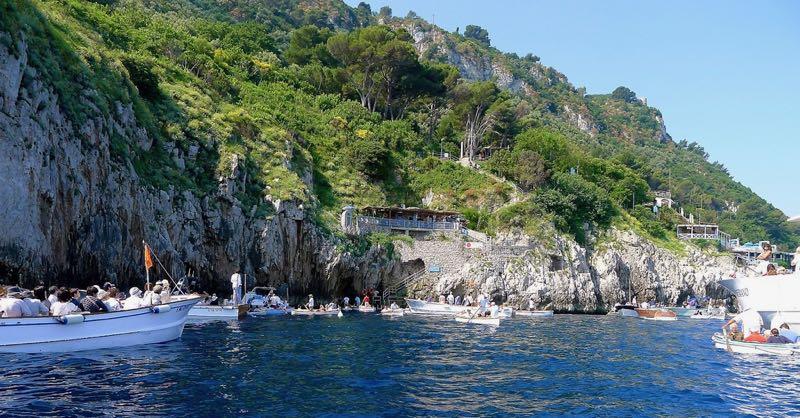 The Blue Grotto Capri Island