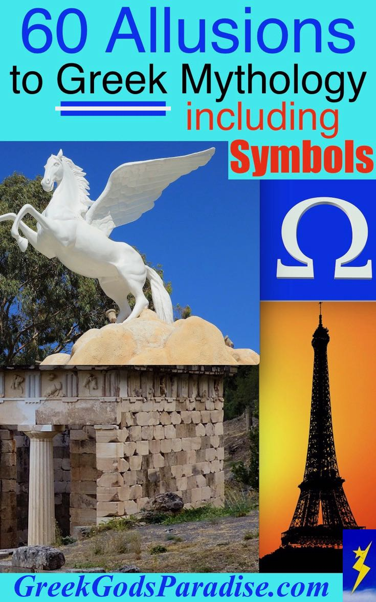 60 Allusions to Greek Mythology and Symbols