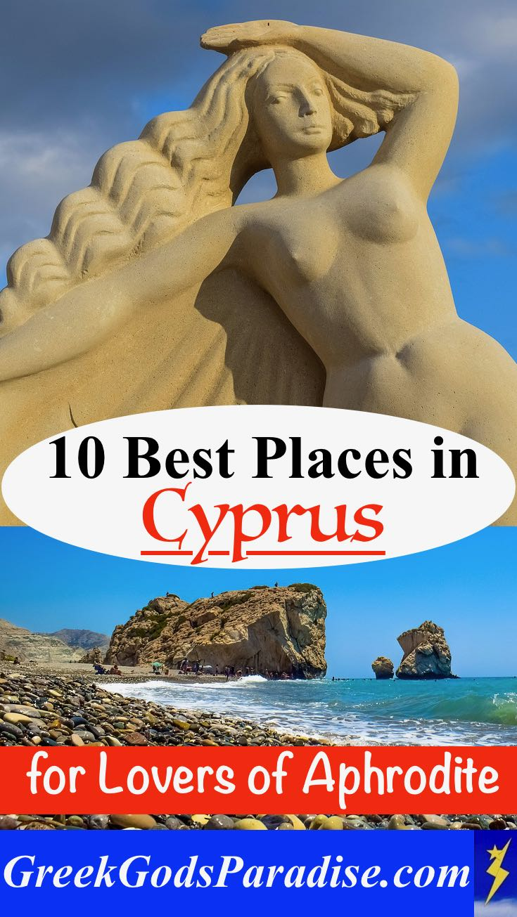 Best Places in Cyprus for Lovers of Aphrodite
