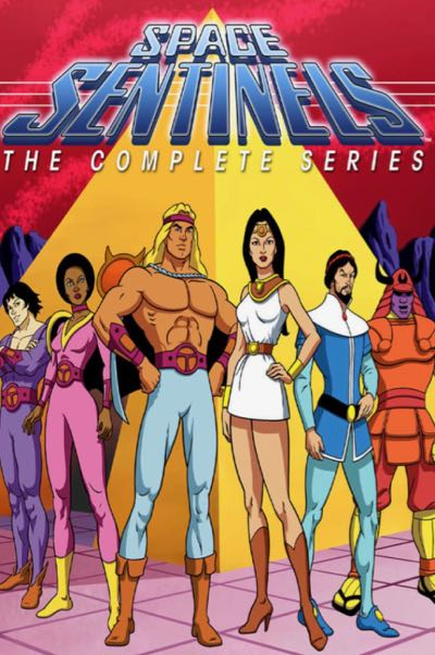 Greek Myth Animated Series Space Sentinels
