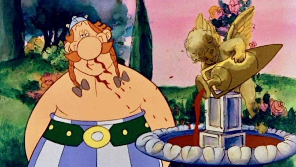 Greek Myth Cartoon The Twelve Tasks of Asterix
