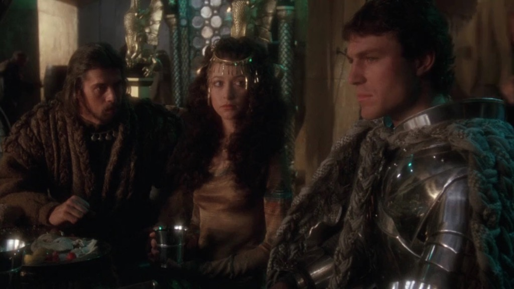 King Arthur Guinevere Lancelot in Excalibur