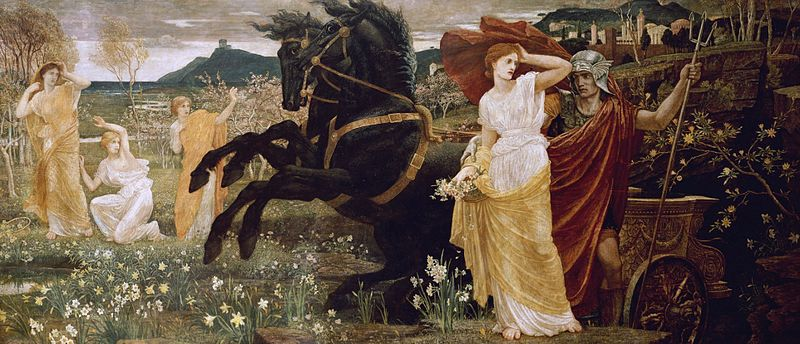 The Fate of Persephone Greek Mythology