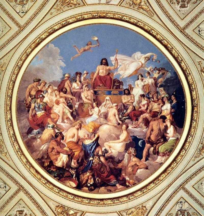 Beautiful Paintings in Italy Olympus