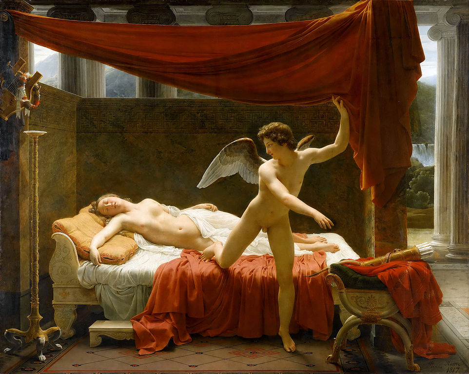 Best Greek Mythology Paintings Cupid and Psyche