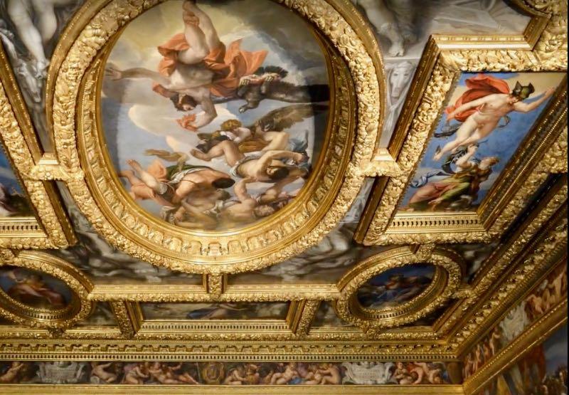 Ceiling Painting Greek Gods