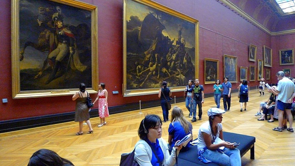 Greek Mythology Paintings Louvre