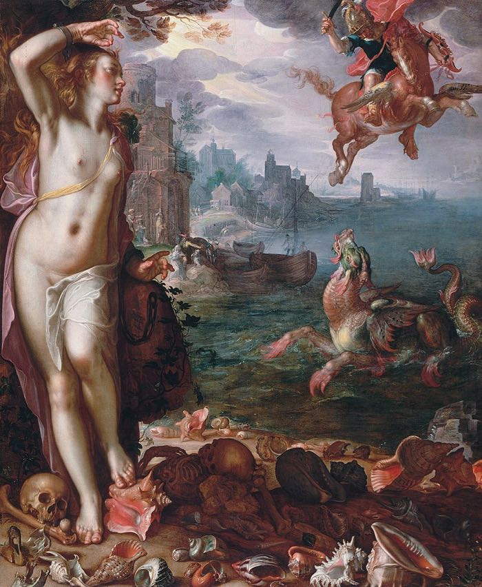 Greek Mythology Paintings Perseus and Andromeda