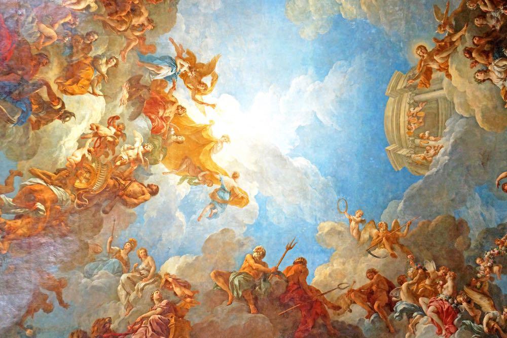Greek Mythology Paintings Versailles France