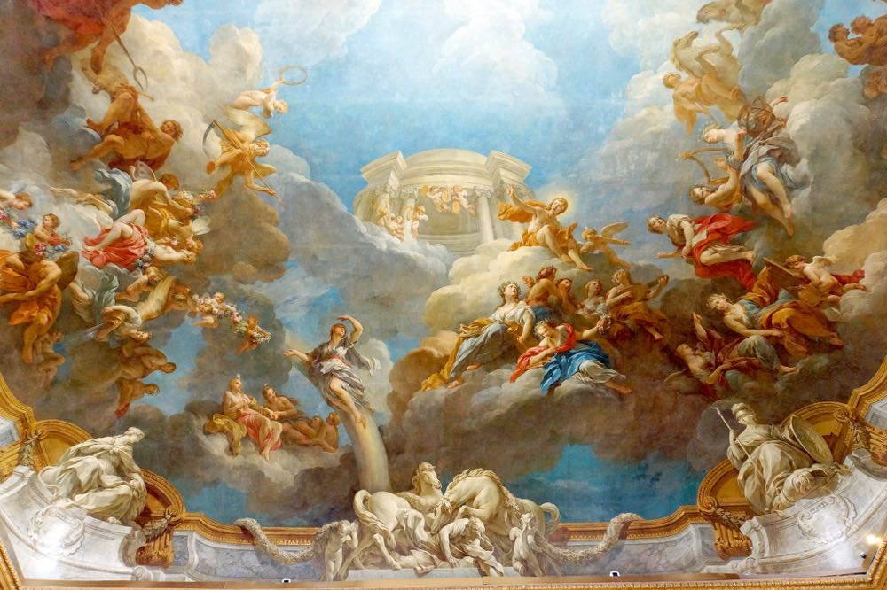 Hercules Room Ceiling Painting France