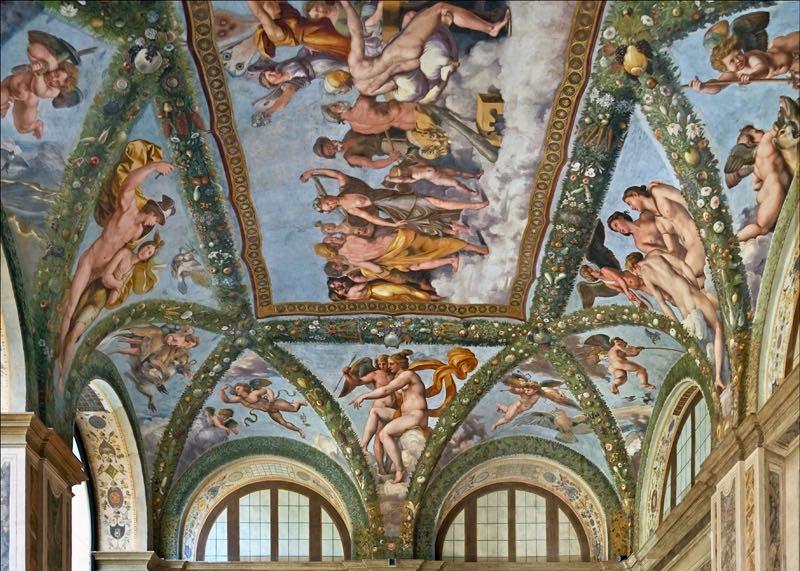 Loggia of Cupid and Psyche Villa Farnesina