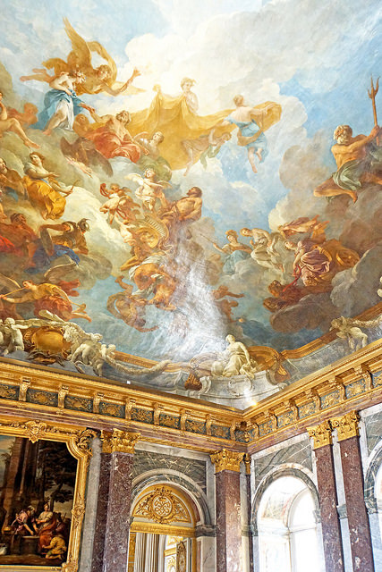Myth Hercules Ceiling Painting
