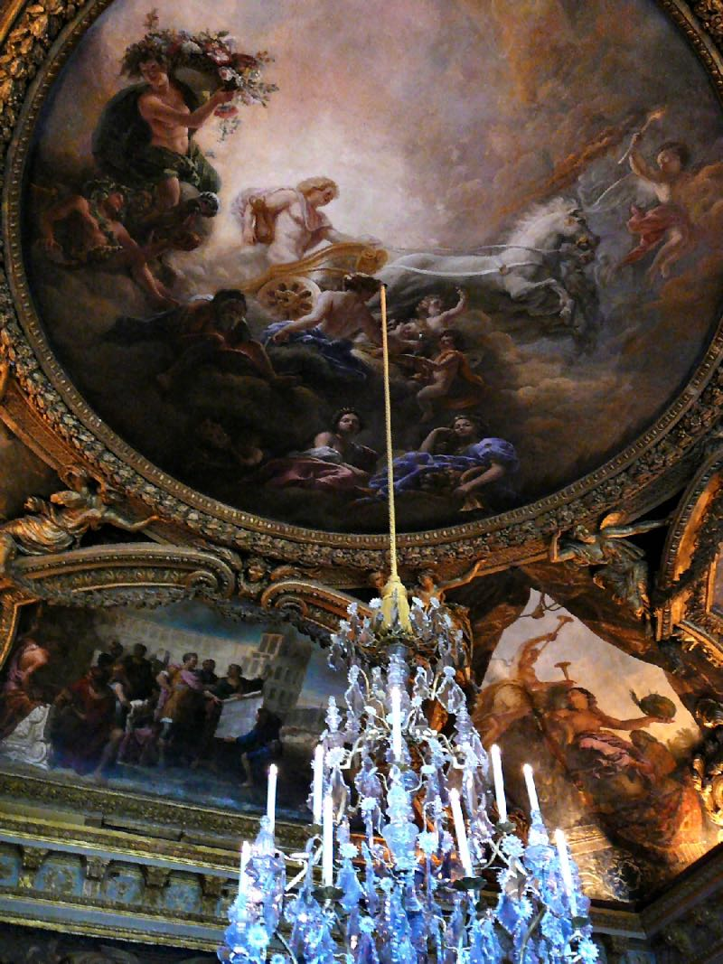 Plafond Salon d'Apollon Versailles