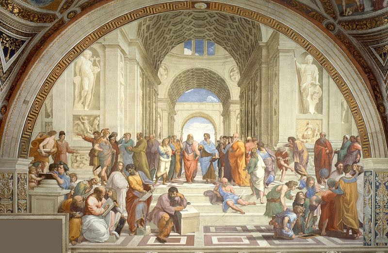 School of Athens Painting Vatican Museum