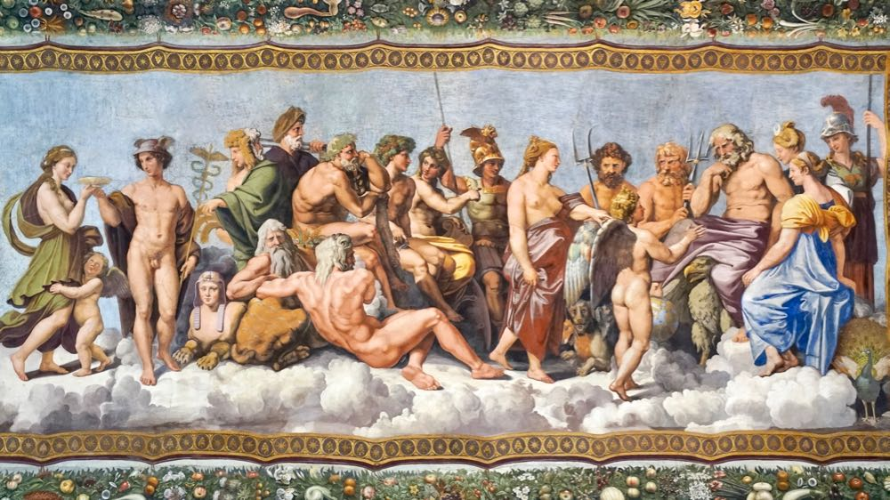 The Council of the Gods Italy Rome