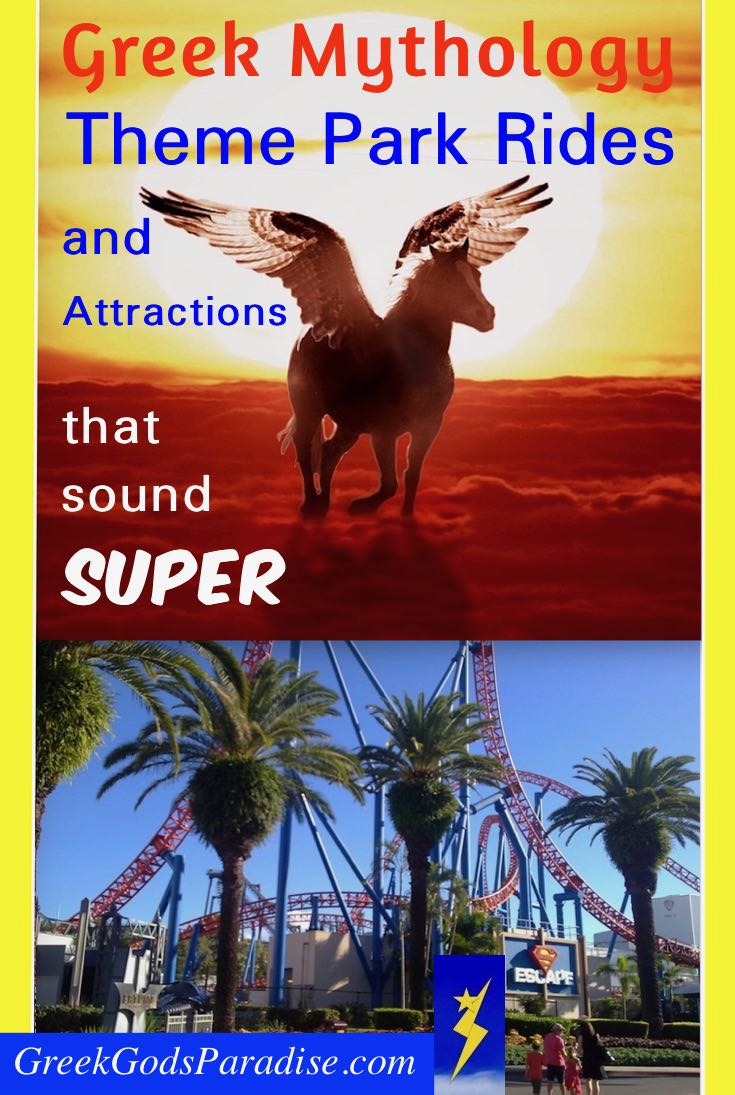Theme Park Rides Greek Mythology Awesome