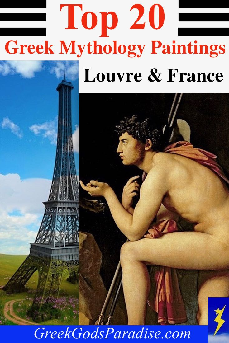 Top Greek Mythology Paintings Louvre France
