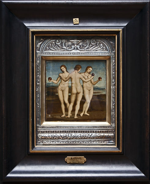 Top Greek Mythology Paintings Three Graces