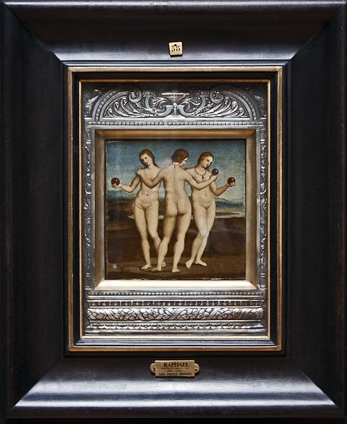 Top Greek Mythology Paintings Three Graces