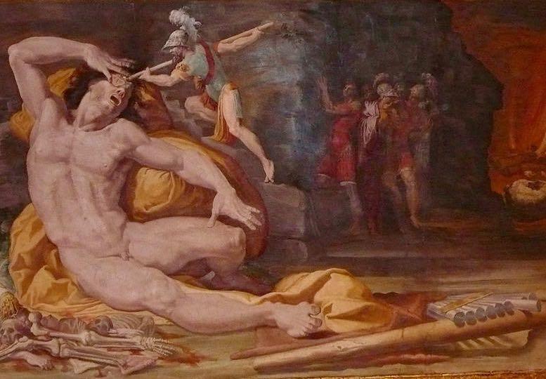 Ulysses Painting Palazzo Poggi Bologna