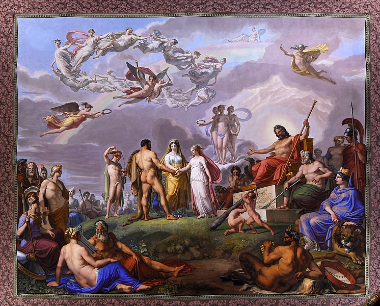Wedding of Hercules and Ebe Palazzo Pitti Florence