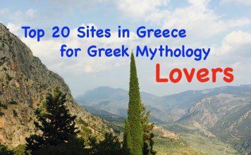 Top 20 Sites in Greece for Greek Mythology Lovers