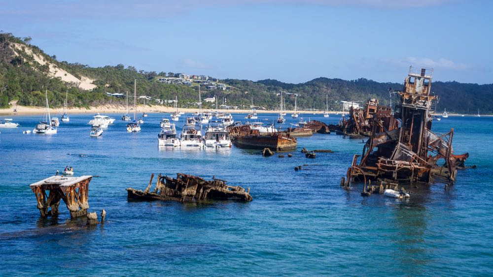 Best Beach in Queensland Tangalooma Wrecks
