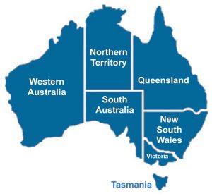 Best Beaches in Australia Queensland Map